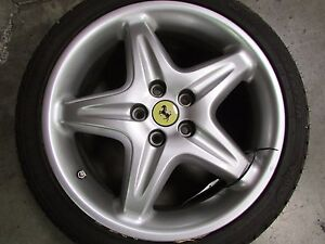 Ferrari F355 18 Front Wheel Rim Grey Used P n 166475