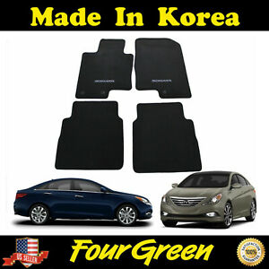 Genuine Fits Hyundai Sonata 2011 2012 2013 2014 Floor Mats Set 4 Pcs