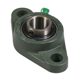 Ucfl206 19 1 3 16 2 Bolt Flange Block Mounted Bearing Unit Fk Brand qty 4