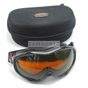 Ce Laser Safety Goggles 1064 532nm Od5 190 540 800 1700nm Fit For Glass wearers