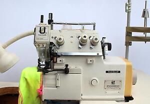 Union Special Sp161 Collar Attaching Serger Industrial Sewing Machine