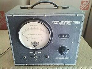 Antique Field Strength Meter Model A 460 Approved Electronic Instrument Corp