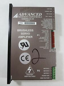 Advanced Motion Controls Brushless Servo Amplifier 1199964