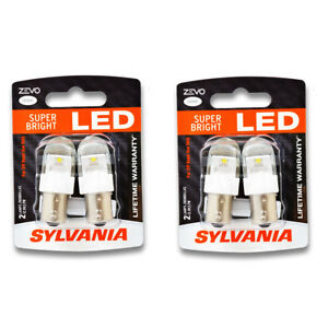Sylvania Zevo Two 2 Packs 1156led Led Bulb Back Up Daytime Running Turn Qs