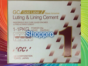 Gc Fuji I 1 Powder Liquid Luting Cement Large Pack