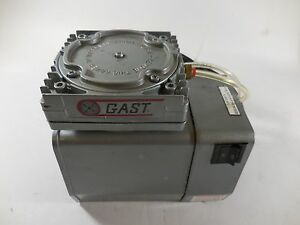 Gast Model Doa 102 aa Vacuum Pump 115v 4a 60hz