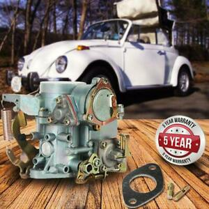 For Vw Beetle 34 Pict 3 Dual Port Carburetor 1 Air Cooled 1600 Cc Bug Bus Empi