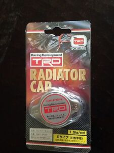 Genuine Toyota Oem Ptr040000002 Trd Radiator Cap Free Shipping New 21 3 Psi