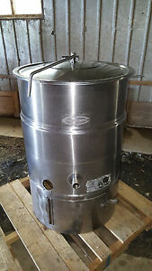 Cleveland Chocolate Melter Mixer Tempering Kep 40 Gallon Jacketed Steam Kettle