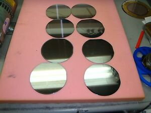 Lot Of 8 6 150mm Silicon Rare Vintage Wafer Awesome Patterns tq626