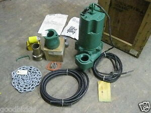 Myers Submersible Sewage Pump Model Whr7 03