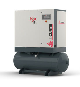 Fs curtis Nxb 4 5 hp 60 gallon Rotary Screw Air Compressor