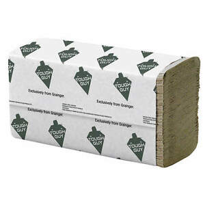 Tough Guy 9 1 2 X 9 1 4 Multifold Paper Towel Brown 4000 Per Case 161 g4