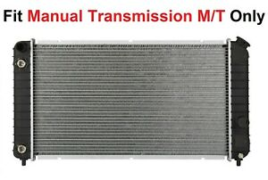 Radiator W Manual Transmission M T Only1825 Fit 96 05 Blazer S10 4 3 V6