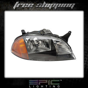 Fits 1998 01 Chevrolet Metro Suzuki Swift Headlights Lamps Right Passenger Only