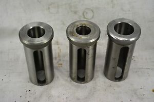 Hardinge Hdc 12 Reducer Bushing 3pc Set 1 5 O d