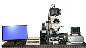 Zeiss Axiophot Fluorescent Photomicroscope With Semprex Motorized Stage
