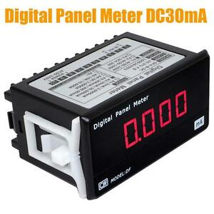 Df4 b High Precision 30ma Digital Dc Current Meter Ammeter Amp Monitor Detector