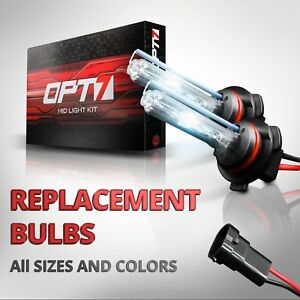 Opt7 Blitz Replacement Hid Bulbs Only Pair H1 H3 H4 H7 H11 9006 9007 Xenon Light