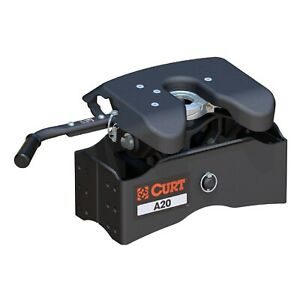 Curt 16540 A20 5th Wheel Hitch Head 20 000 Lbs Capacity