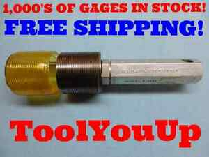 2 1 8 12 N 3a Set Thread Plug Gage No Go Only 2 1250 P d 2 0664 Inspection