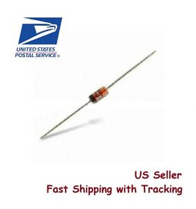 20 Pcs Germanium Diode 1n34a 1n34 In34a Do 35 Us Seller Fast Ship W Tracking