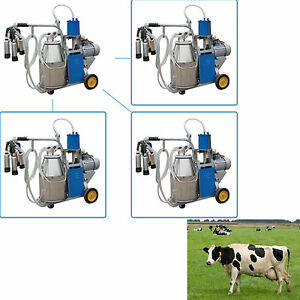 Usa Cows Bucket 25l 304 Stainless Steel Electric Dairy Milking Machine Milker