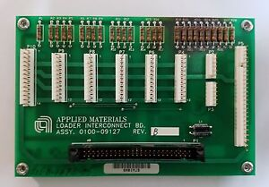 Applied Materials Loader Interconnect Board 0100 09127 Amat Precision 5000