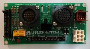 Applied Materials Chamber Interconnect Board 0100 09099 F Amat Precision 5000