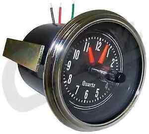 Crown Automotive J5761330 Replacement Instrument Panel Clock For 76 86 Cj5 Cj7