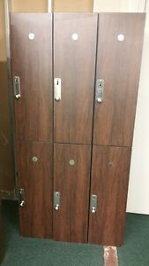 Wood Gym Lockers