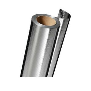 Reflectix 500sq Ft Double Barrier Thin Fabric Carrier Reflective Roll Insulation