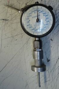 Mahr Marameter Dial Indicating Depth Gauge 75p 50 Blue Numbers