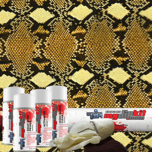 Hydrographic Film Kit Hydro Dipping Water Transfer Printing Diamond Back Ap 938