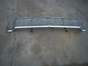 1965 Ford Galaxie Grille With Bracket 65 Grill