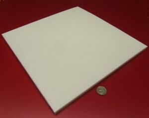 Teflon Ptfe Virgin Sheet 3 8 375 X 12 X 12 White