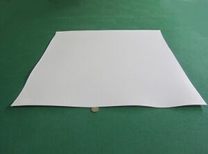 Teflon Ptfe Virgin Sheet 1 16 062 X 24 X 24 White