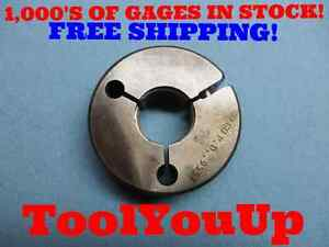 1 16 Unj 3a No Go Only Thread Ring Gage 1 00 P d 9557 Inspection Tooling