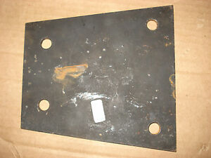 Transmission Mount Adapter Plate Mount Chevy Transmission In 53 55 Corvette