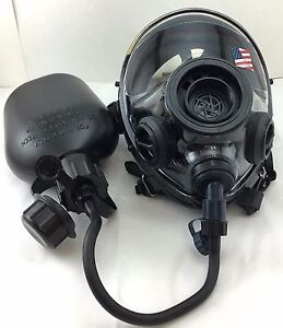 Sge 400 3 Infinity Nbc Tactical Gas Mask W Drinking Port Canteen made In 2018