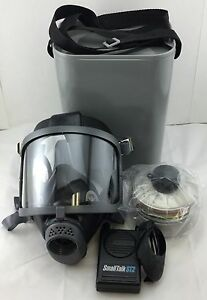 Scott Domestic Preparedness Gas Mask With Nbc Filter Voice Amp