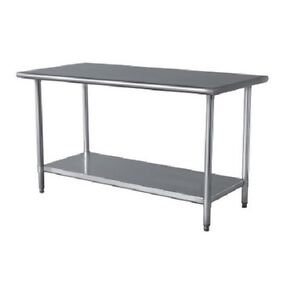 Modern Buffalo Tools Home Garage Storage Table Shop Steel Work Bench Top New