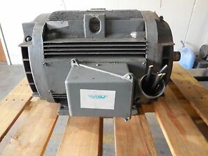 General Electric Ge Motor 326tsc Rpm 1185 Volts 460 Amp 39 hp 30 3 Phase