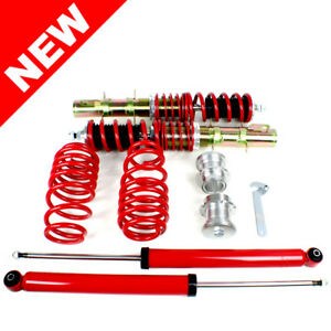Rsk Street Coilover Kit Vw Mk4 Golf Gti Jetta New Beetle Red