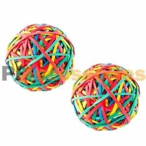 2x 240 Ct Assorted Color Rubber Band Ball 5 3 Ounces For Office Home Desk New