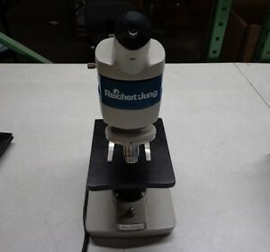Reichert jung One sixty Microscope With 2 Objectives