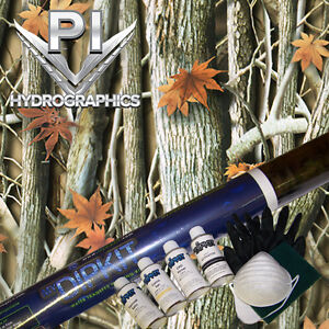 Hydrographic Kit Hydro Dipping Water Transfer Print Hydro Dip Woods Camo Hc33