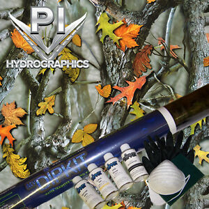 Hydrographic Kit Hydro Dipping Water Transfer Hydrodip Leaf Woods Mix Camo Hc462