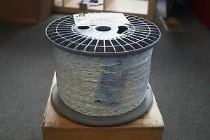 3500 Ft Mil spec Tin Plated Copper Etfe 22 Awg Electrical Wire Blue white