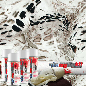 Hydrographic Film Kit Hydro Dipping Water Transfer Printing White Out Rc 421